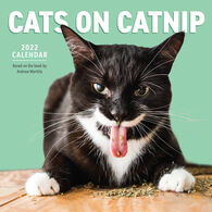 Cats on Catnip 2022 Wall Calendar by Andrew Marttila