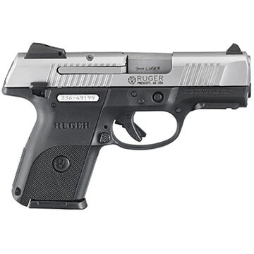 Ruger SR9c 9mm Matte Stainless 3.4 17-Round Compact Pistol