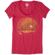 Life is Good Women's Truck Smooth Short-Sleeve T-Shirt