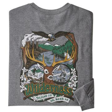 Patagonia Mens Yes To Wilderness Responsibili-Tee Long-Sleeve T-Shirt