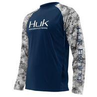 Huk Men's Subphantis Double Header Vented Long-Sleeve Fishing Shirt