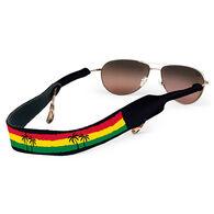 Croakies Rasta Beach Palms Eyewear Retainer
