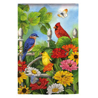 Evergreen Jewels of Summer Garden Flag