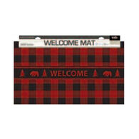 Wilcor Buffalo Plaid Floor Mat