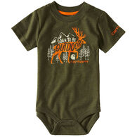 Carhartt Infant/Toddler Boys' Born To Be Outdoors Bodysuit