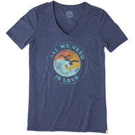 Life is Good Women's All We Need Cool Short-Sleeve T-Shirt