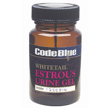 Code Blue Whitetail Estrous Urine Gel Deer Attractant
