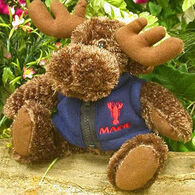 Wishpets Stuffed Moose w/ Vest
