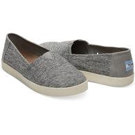TOMS Women's Forged Iron Grey Space Dye Avalon Slip-On Shoe