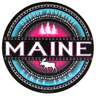 Blue 84 Fillmore Pines/Moose Maine Sticker