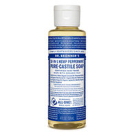 Dr. Bronner's Peppermint Pure-Castile Liquid Soap - 4 oz.
