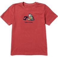 Life is Good Boy's Take A Hike Jake Vintage Crusher Short-Sleeve T-Shirt