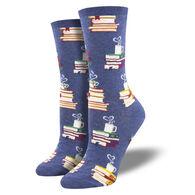 Socksmith Design Women's Love Stories Crew Sock