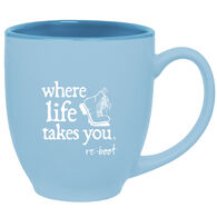 Where Life Takes You Boot Mug