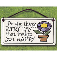 "Spooner Creek ""Do One Thing"" Mini Charmer Tile"