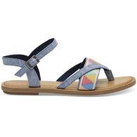 TOMS Women's Chambray Lexie Sandal