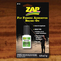 Hareline Zap-A-Gap Brush-On Fly Tying Adhesive