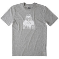 Life is Good Men's Papa Bear Crusher Short-Sleeve T-Shirt