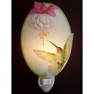 Ibis & Orchid Design Hummingbird And Fuchsia Nightlight