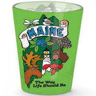 Cape Shore Maine The Way Life Should Be Shot Glass