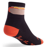 SockGuy Men's Foot Long Bicycling Sock