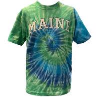 Artforms Women's Maine Arch Tie Dye Short-Sleeve T-Shirt