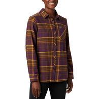 Columbia Women's Simply Put II Flannel Long-Sleeve Shirt