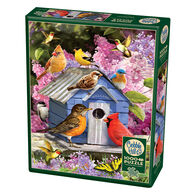 Outset Media Jigsaw Puzzle - Spring Birdhouse