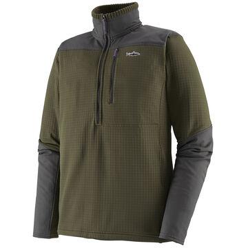 Patagonia Mens Long-Sleeved R1 Fitz Roy 1/4-Zip Fleece
