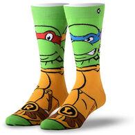 Odd Sox Unisex Retro Ninja Turtle Crew Sock