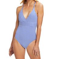 Vineyard Vines Women's Vineyard Feeder Sconset One-Piece Swimsuit