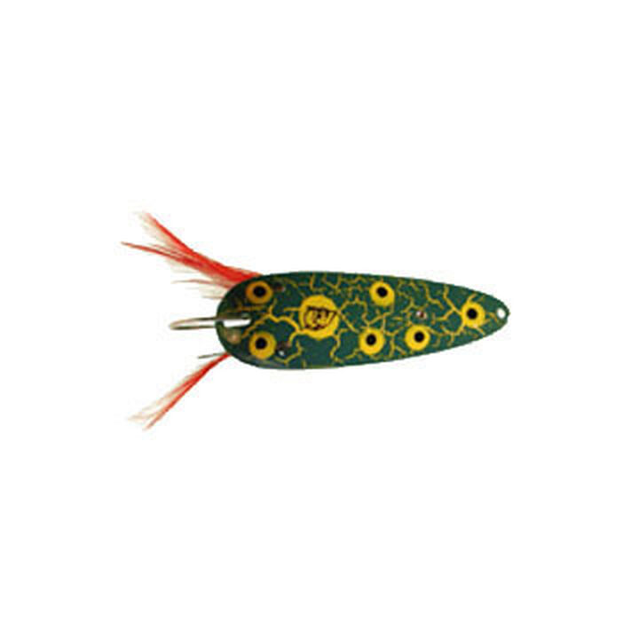 SHINER PERSUADER AMERICAN ANGLING Imaged Ultraviolet Weedless Spoon 1//4oz