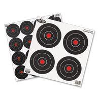 """Birchwood Casey Dirty Bird Rapid Fire 3"""" & 6"""" Bull's-Eye Target - 12 Pk."""