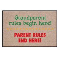 High Cotton Doormat - Grandparent Rules