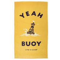 Life is Good Yeah Buoy Beach Towel
