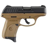 "Ruger EC9s FDE 9mm 3.12"" 7-Round Pistol"