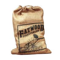 Wood Products 8-Lb. Burlap Bag Fatwood Firestarter