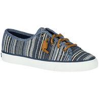 Sperry Women's Seacoast Denim Stripe Sneaker