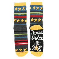 Lazy One Women's Dream Under the Stars Crew Sock