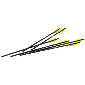 Excalibur Firebolt Carbon Arrows - 6 Pack