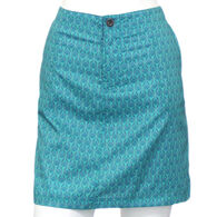 North River Women's Polyester Stretch Woven Printed Skort