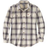 Carhartt Men's Original Fit Flannel Plaid Long-Sleeve Shirt