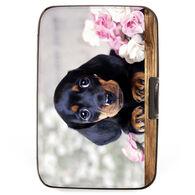 Fig Design Women's Puppy Daschund RFID Wallet