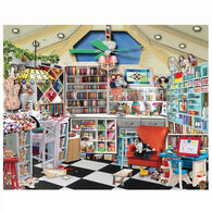 White Mountain Jigsaw Puzzle - Craft Room - Seek & Find