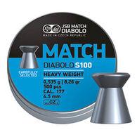 JSB Match Diabolo Blue Match Heavy Weight 177 Cal. 4.5mm 7.26 Grain Air Gun Pellet (500)