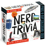 A Year of Nerd Trivia 2019 Page-A-Day Calendar by Workman Publishing