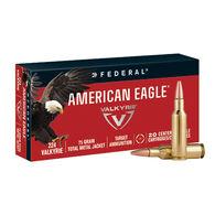American Eagle 224 Valkyrie 75 Grain TMJ Rifle Ammo (20)