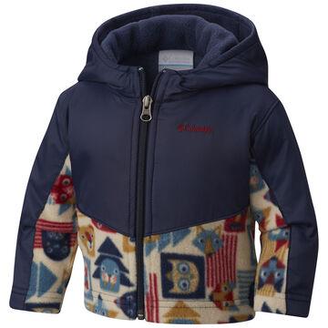 e25361cdd Columbia Toddler Boys & Girls Steens MT Overlay Hoodie Omni-Shield Fleece  Jacket