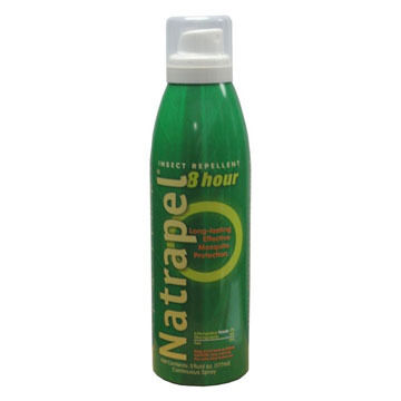 Natrapel 8-Hour DEET-Free Insect Repellent Continuous Spray - 5 oz.