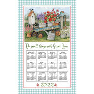 Kay Dee Designs 2022 Blue Wagon Calendar Towel